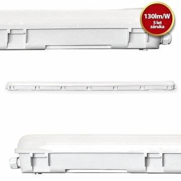 LED Tri-proof svítidlo Tesla TP124040-6F 1200mm 40W
